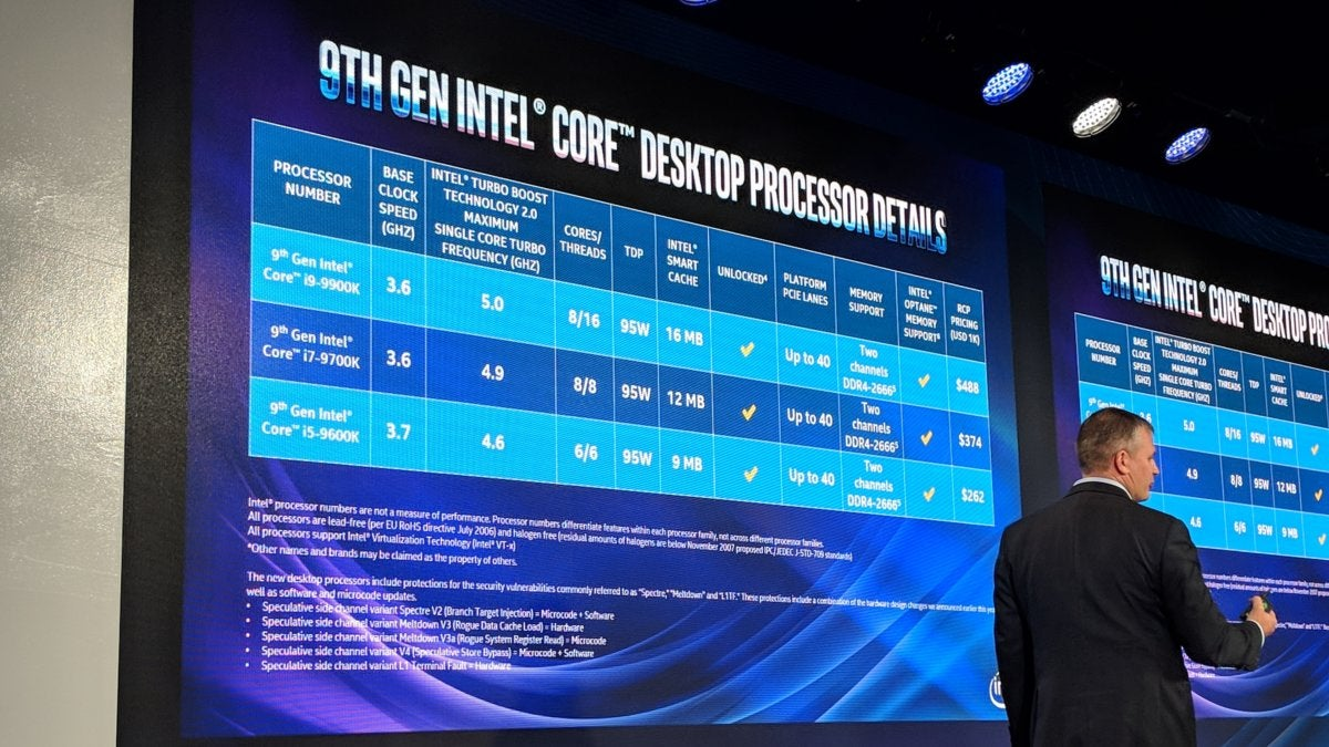 Intel 9th-gen Core K-series