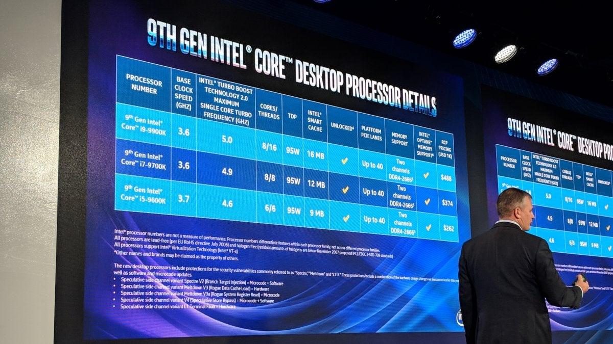 Intel 9th-gen Core K-series