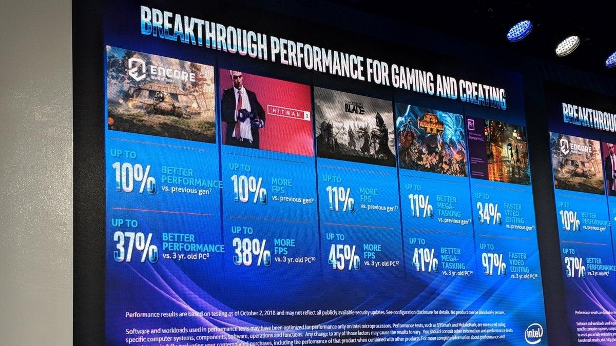 Intel Core i9-X series performance