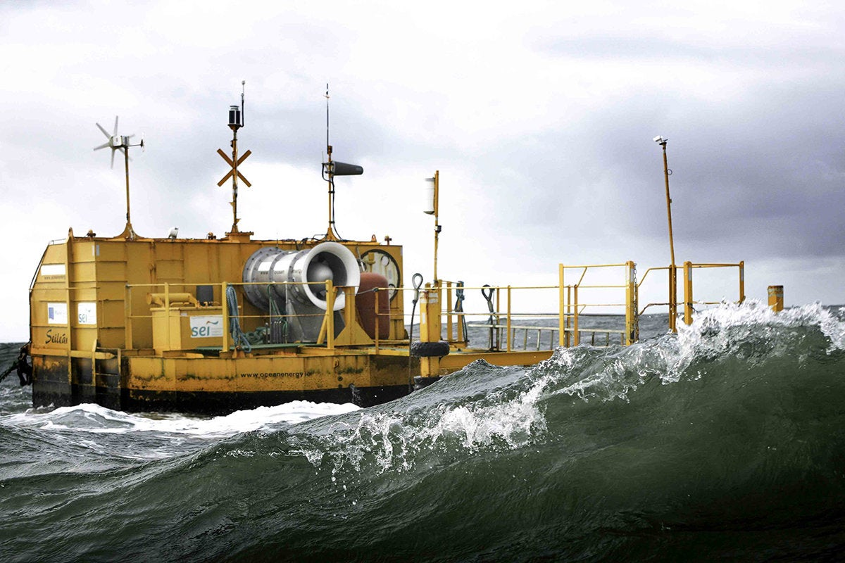 Ocean Energy, wave energy, undersea data center