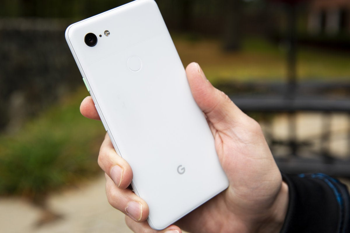 pixel 3 xl back hold