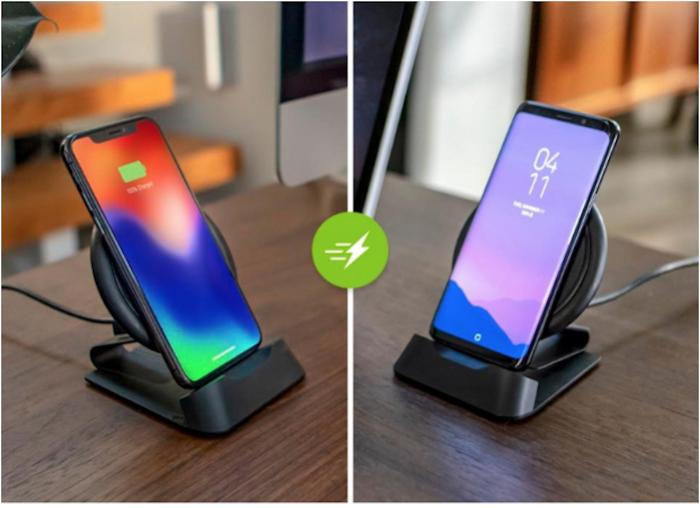 Mophie wireless charge stream desk stand