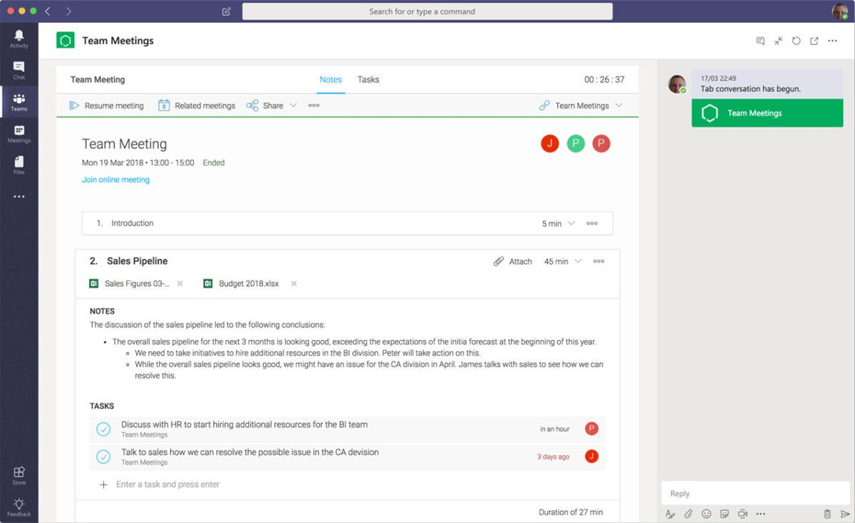 tasks in a box integration microsoft teams