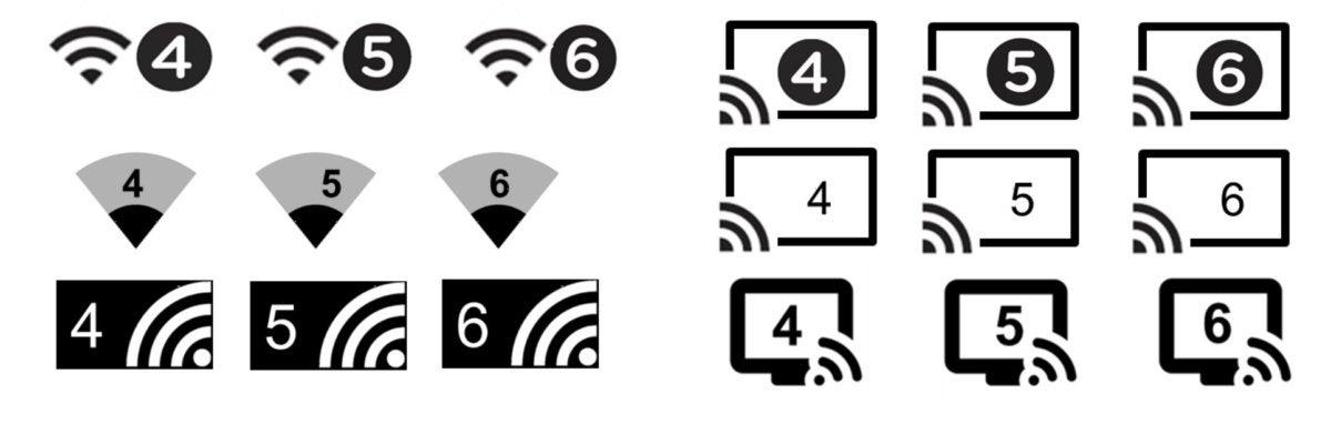 wifi number samples