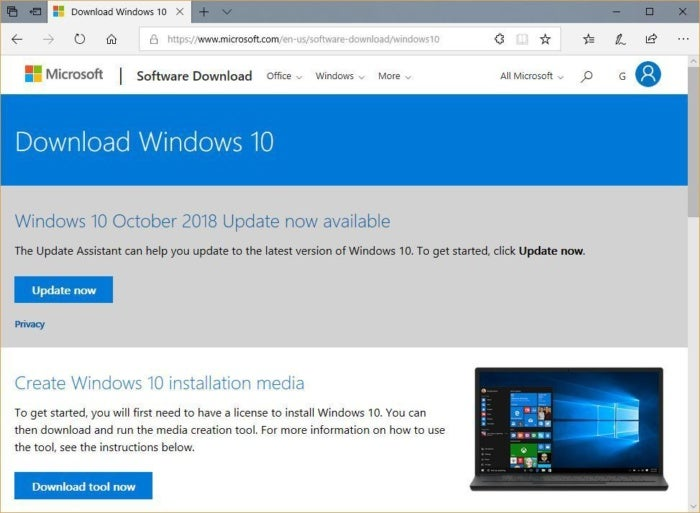 win10 october 2018 update