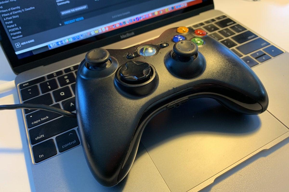 xbox 360 controller macbook