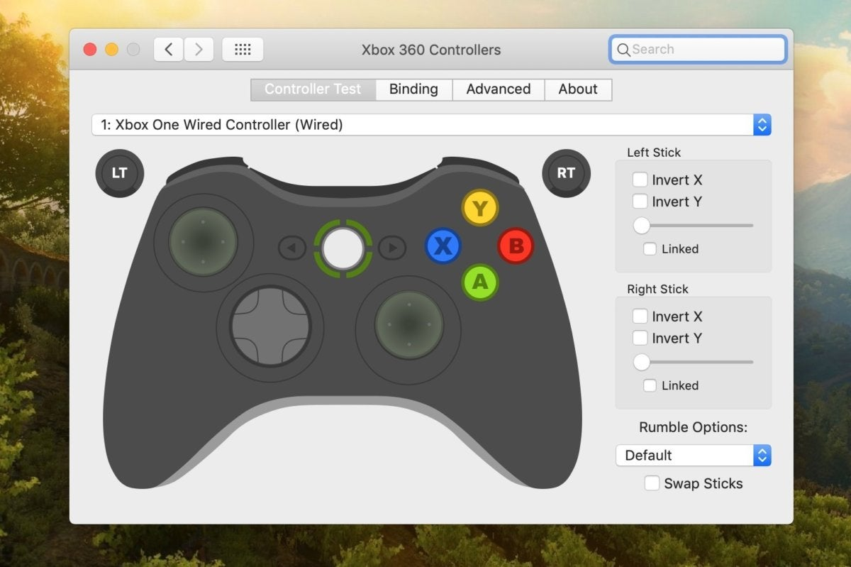 xbox one controller macbook mod