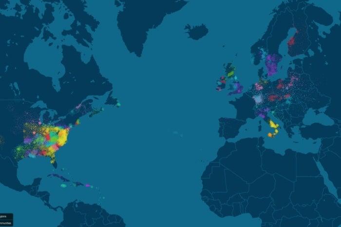 ancestrydna genetics communities