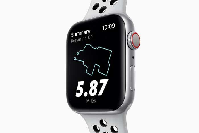 Apple Watch Nike+ Series 4 (GPS + Cellular)
