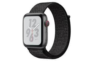 apple watch nike series 4 sports loop black