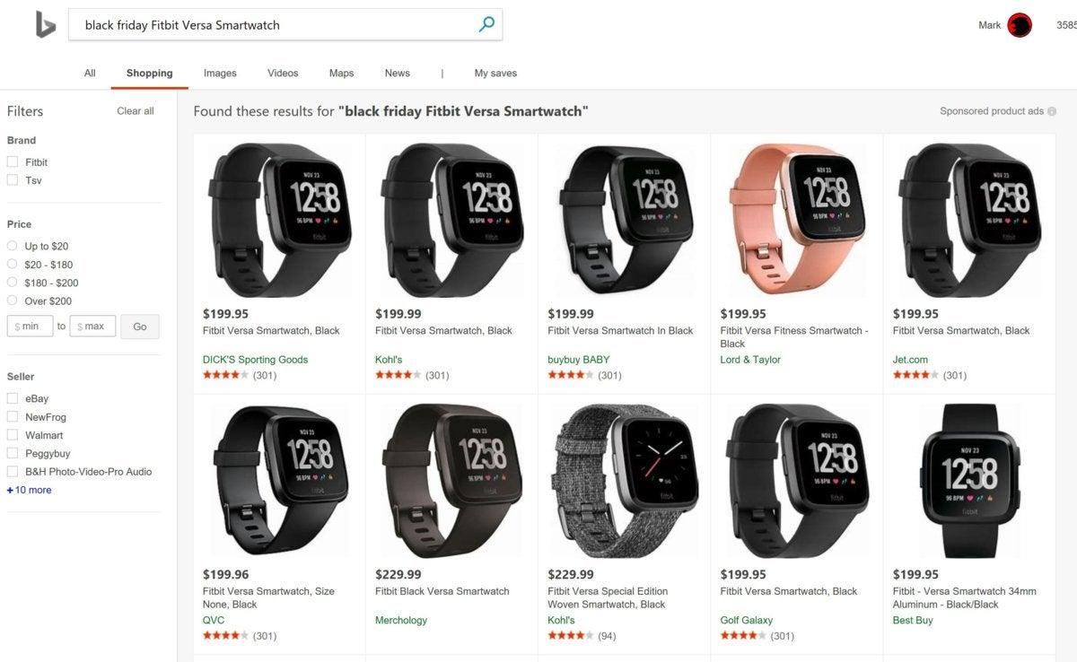 bing black friday smartwatch