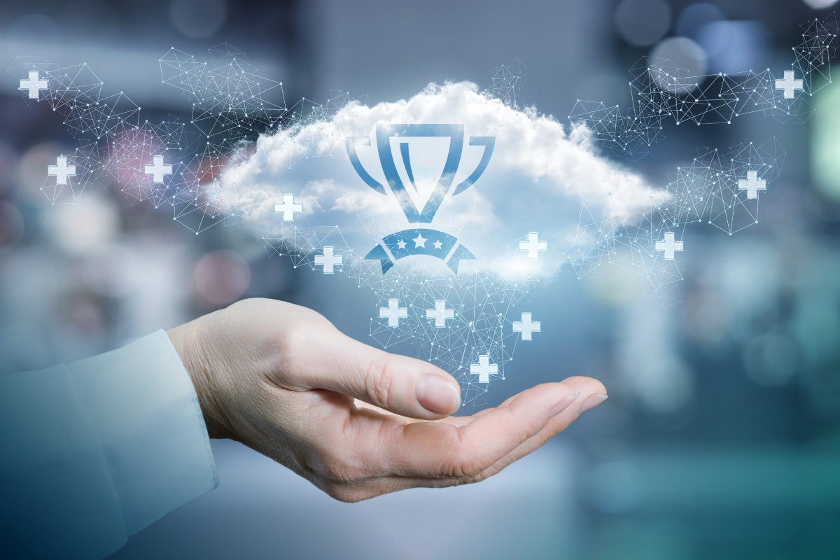 Recognition of the best cloud network.