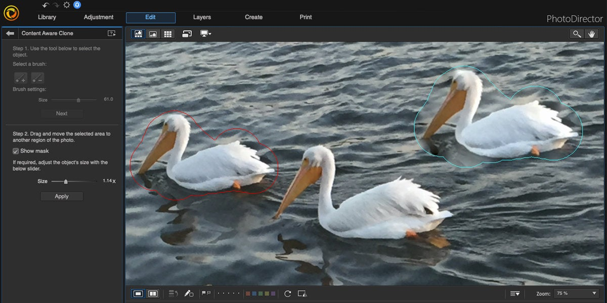 cyberlink photodirector mac content aware clone
