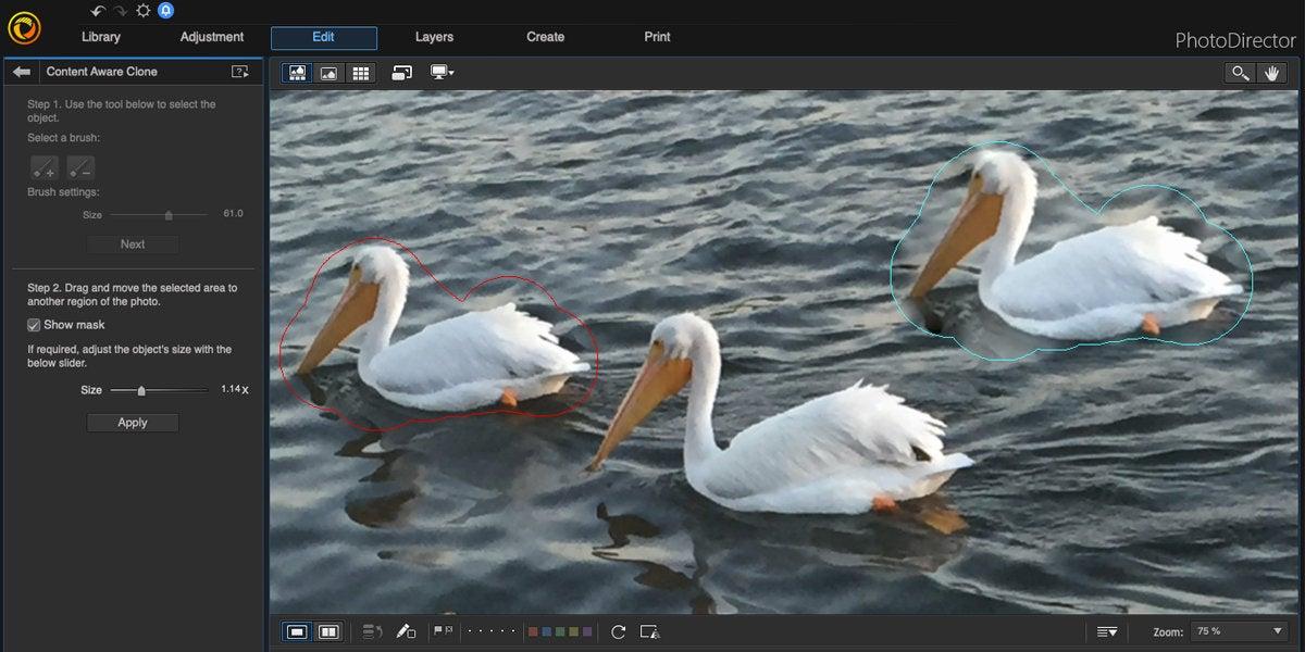 cyberlink photodirector mac content aware clone