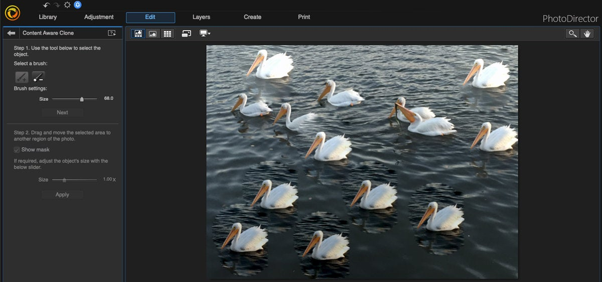 cyberlink photodirector mac content aware clone 2