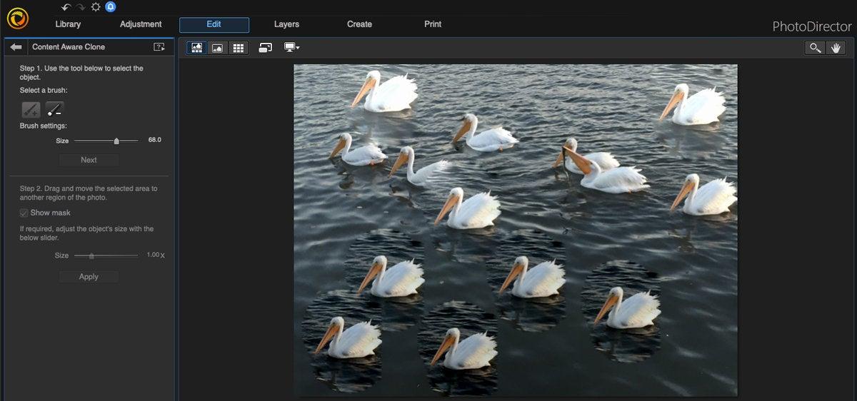 cyberlink photodirector mac content aware clone 2