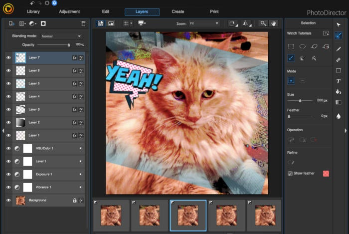 cyberlink photodirector mac express layer templates