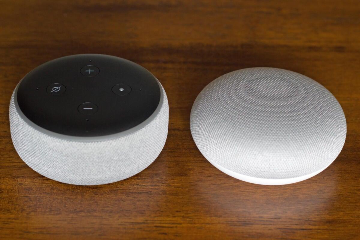 Google Home Mini Chalk Grey Smart Small Speaker BRAND NEW-SHIPS WORLDWIDE