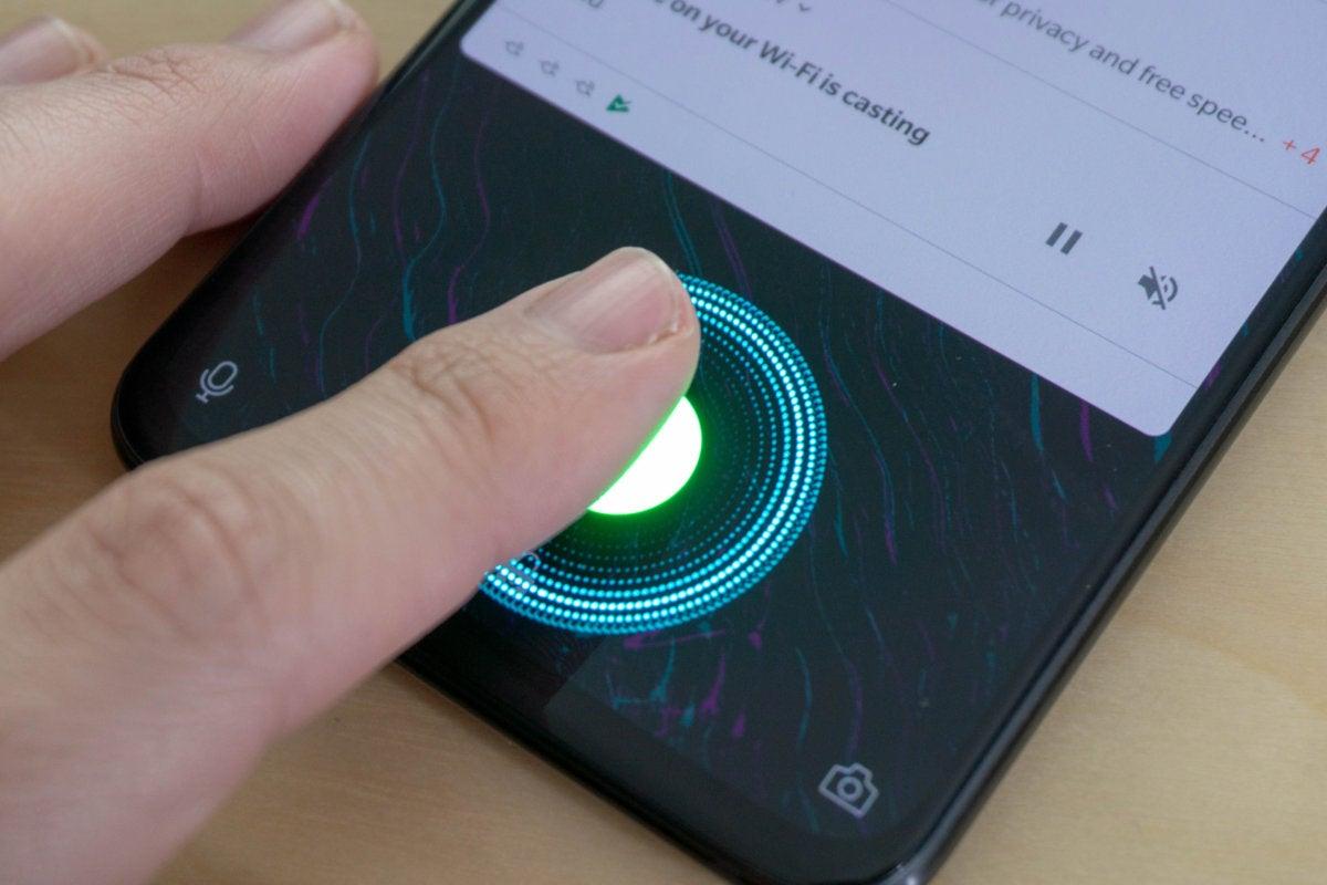 6T fingerprint animation