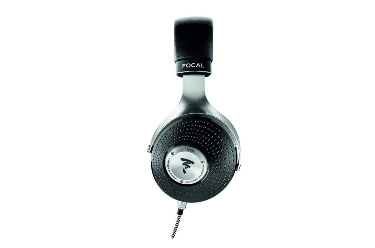Elegia has angled drivers, positioned towards the front of the headphone and visible when looking at