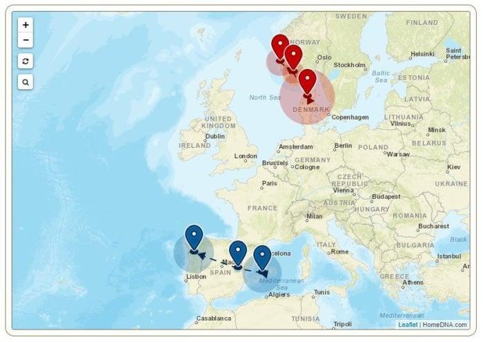 gps origins dna migration routes