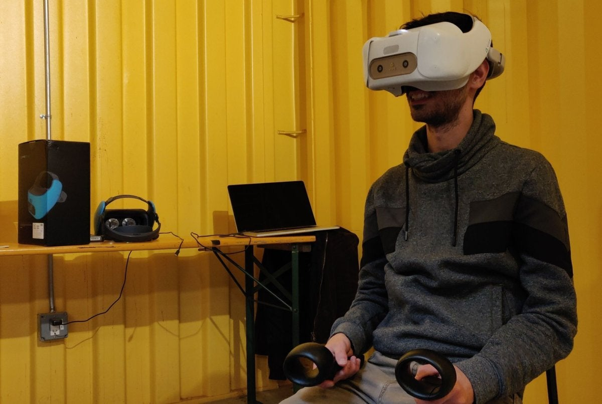 7b95446da0e1 HTC Vive Focus hands-on impressions  No-PC