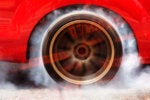 hyper convergence speed burning rubber tire binary fast by tao55 getty images