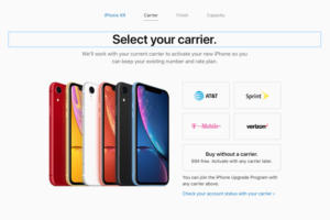 iphone xr no carrier