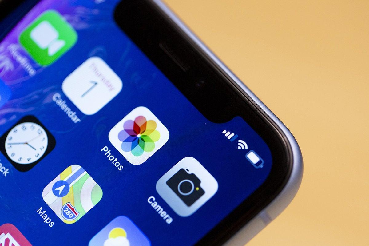 iphone xr notch