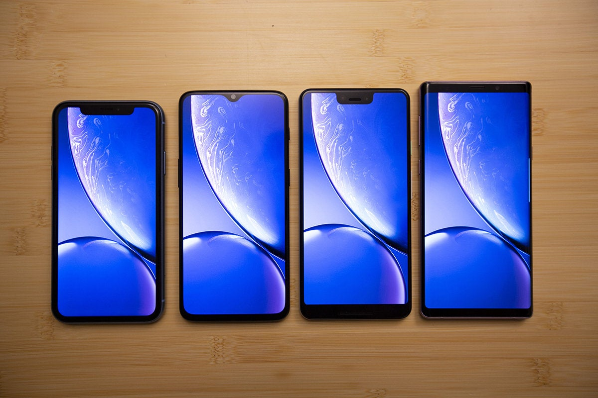 iPhone XR vs Note 9, Pixel 3 XL, and OnePlus 6T: A razor-thin