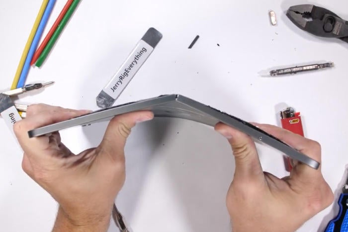 Does the new iPad Pro have a bending problem?