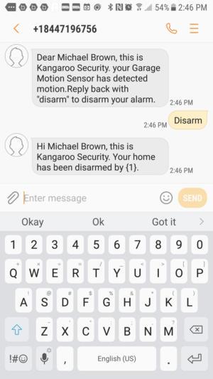 kangaroo disarm
