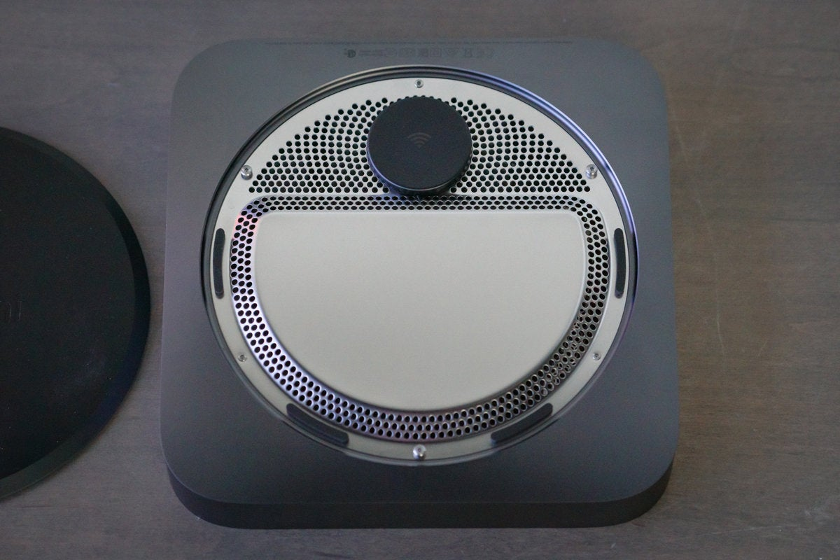 mac mini 2018 bottom open hatch