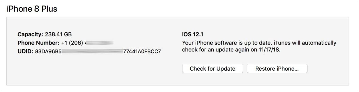 mac911 itunes get udid ios