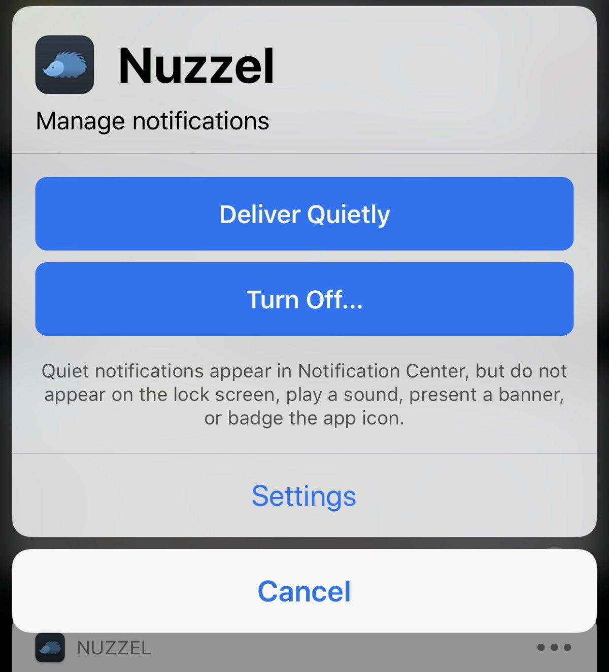 mac911 notification lock screen mute