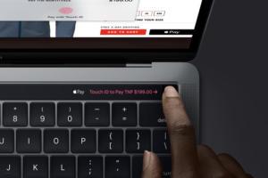macbook pro touchid 2018
