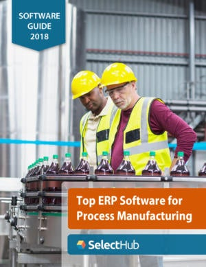 Top ERP for Process Manufacturing—2018 Guide