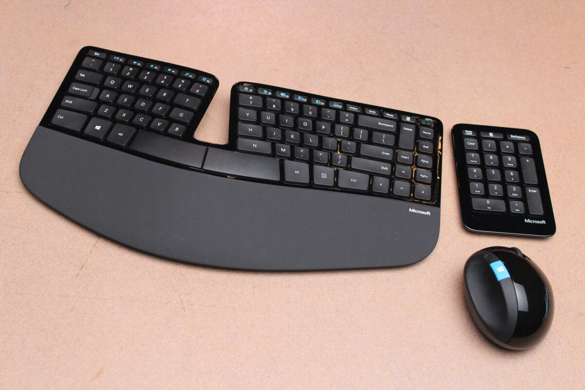 Microsoft's popular Sculpt ergonomic keyboard and mouse ...