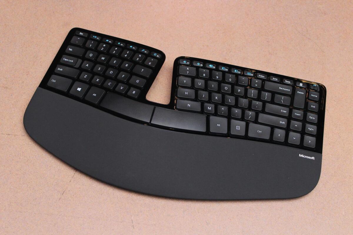 microsoft sculpt ergonomic keyboard primary