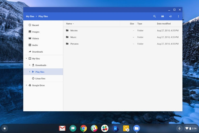 New Chromebook Features: Files App