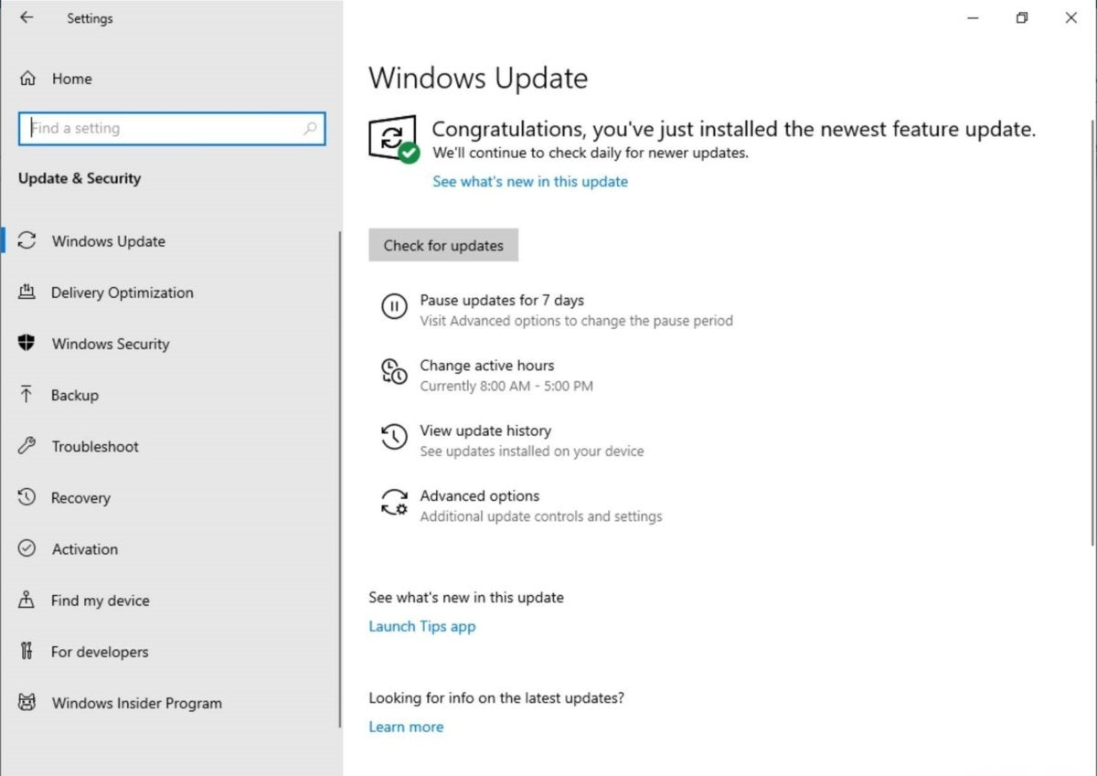 Windows 10 pause windows updates