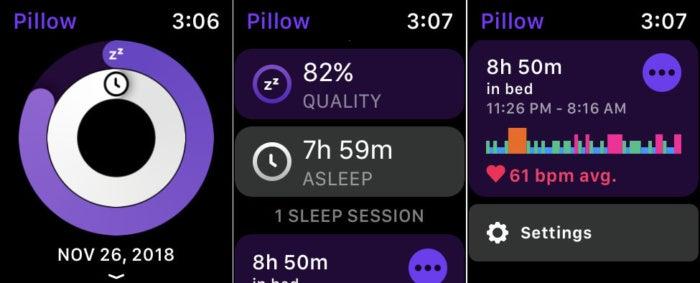 pillow watch