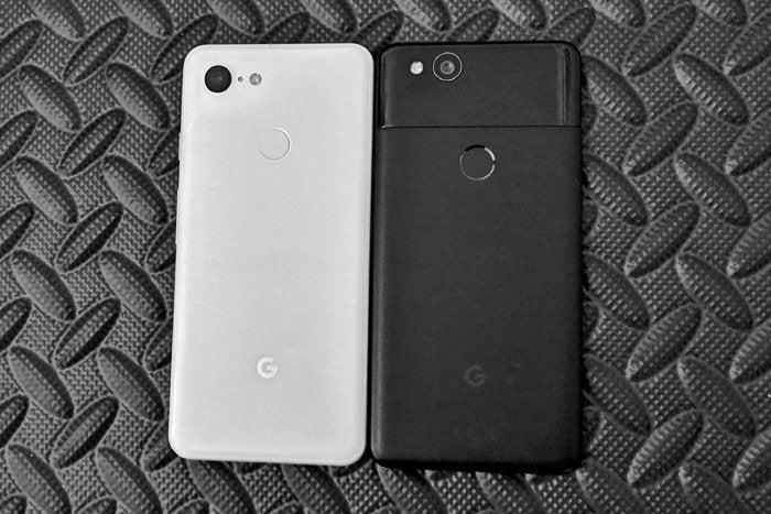 Pixel 3 vs. Pixel 2