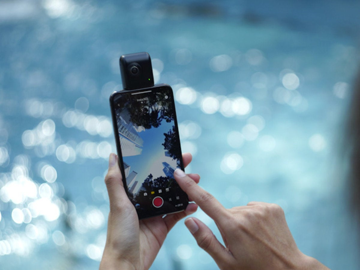 Cyber Week Steal Get The Insta360 Nano S Iphone Vr Camera For Over
