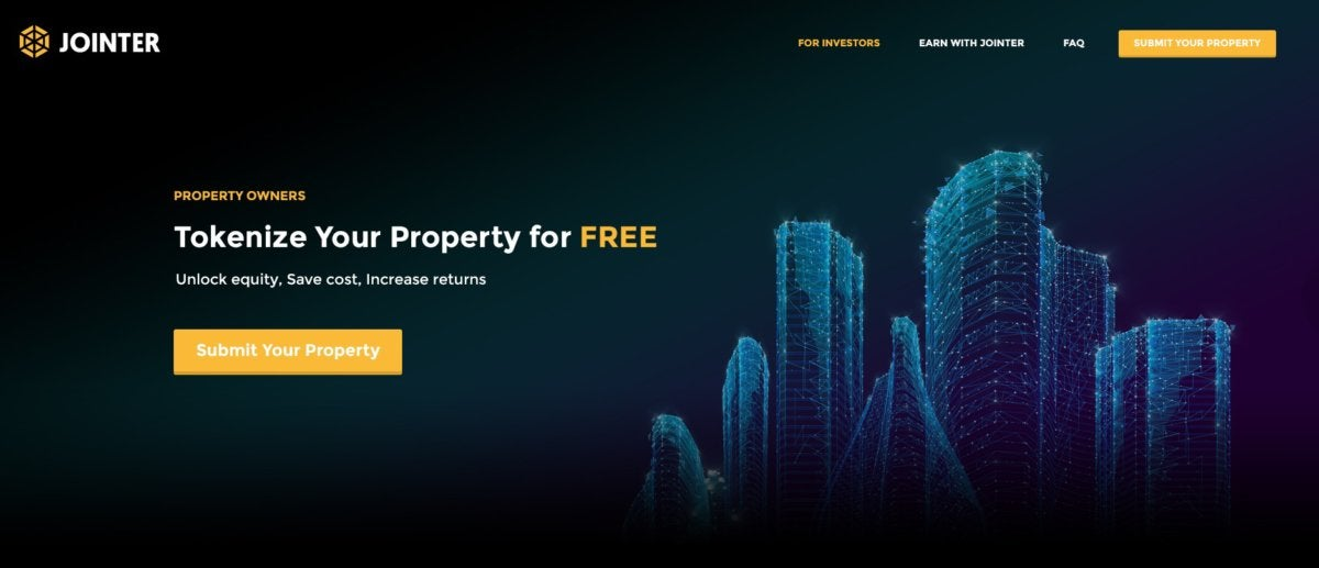 property owner blockchain jointer