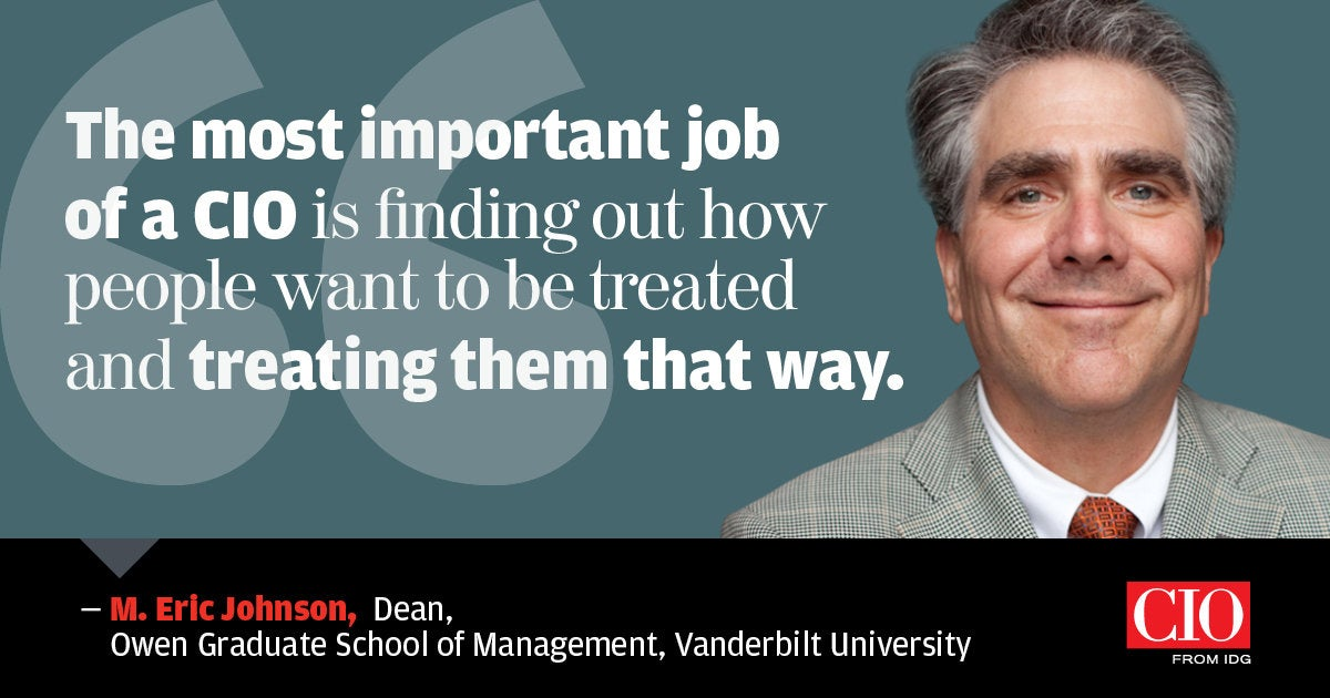 quote m.eric johnson vanderbilt university