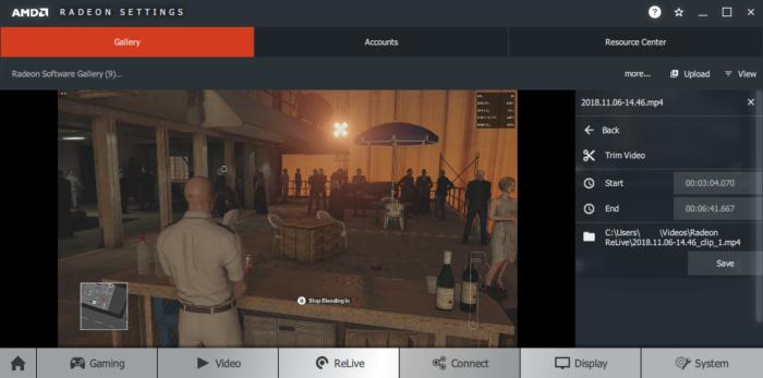 AMD ReLive review: A stylish video capture tool for Radeon graphics