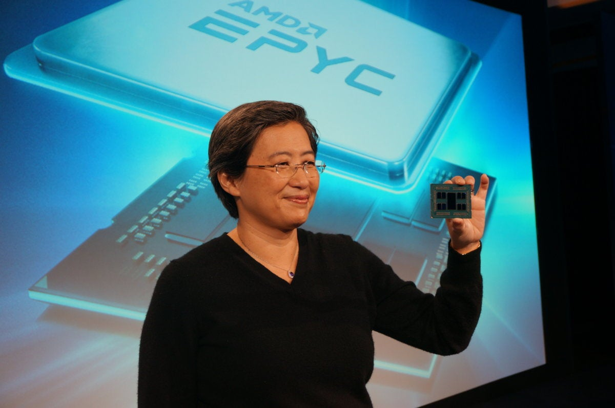 AMD 64-core Rome CPU to be used in new Epyc
