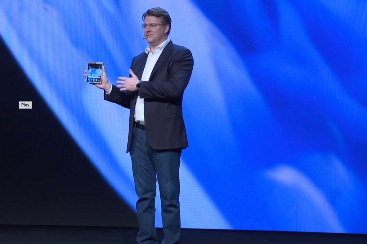 Samsung's folding Galaxy phone reveal was a giant disappointment