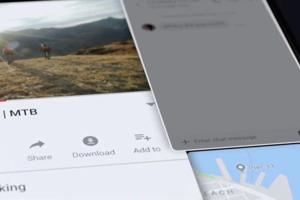 samsung folding phone multi apps